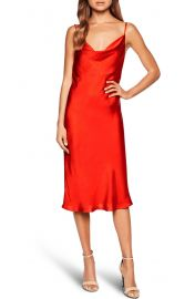 Bardot Satin Dress at Nordstrom