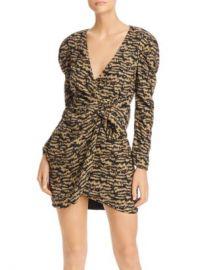 Bardot Tracey Bow Detail Puff-Sleeve Dress  Women - Bloomingdale s at Bloomingdales
