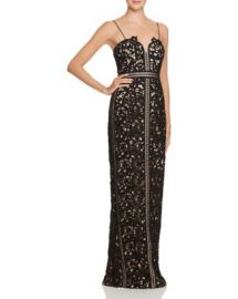 Bariano Lace Gown at Bloomingdales