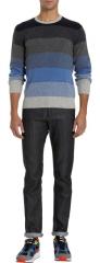 Barneys New York Multi Stripe Sweater at Barneys Warehouse