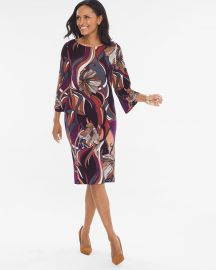 Baroque Floral Dress by Travelers Classic at Chicos