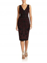 Baroque dress at Saks Fifth Avenue
