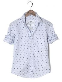 Barry Shirt in Heart Print at Frank & Eileen