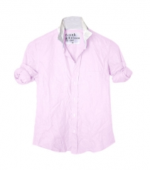 Barry shirt by Frank n Eileen in pink at Farfetch