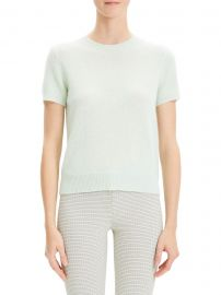 Basic Cashmere Tee at Saks Off 5th