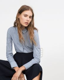 Basic Poplin Shirt at Zara