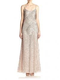 Basix Black Label - Sequined Slip Gown at Saks Fifth Avenue