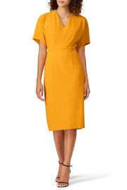 Bat Sleeve Dress by Donna Morgan at Rent The Runway