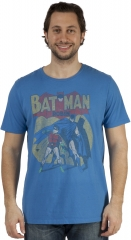 Batman and Robin Tee at 80s Tees