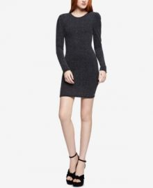 Bcbgeneration Puff-Shoulder Bodycon Dress at Macys