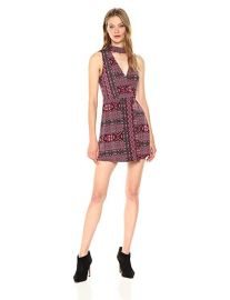 Bcbgeneration printed choker dress at Amazon