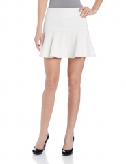 Bcbgeneration white fit and flare skirt at Amazon