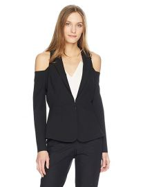Bcbgmaxazria Cold Shoulder Blazer at Amazon