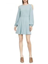 Bcbgmaxazria Bailey Cold-Shoulder Button-Detail Dress at Saks Off 5th