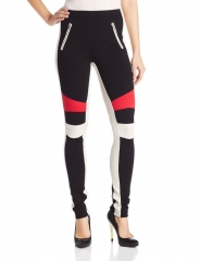 Bcbgmaxazria Bond Colorblock Leggings at Amazon