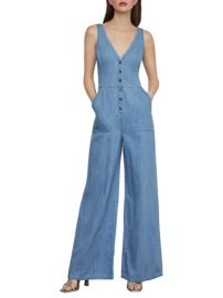 Bcbgmaxazria Button Front Jumpsuit at Lord & Taylor