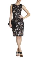 Bcbgmaxazria Diane Lace Dress at Lord & Taylor