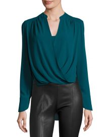 Bcbgmaxazria Jacklyn Blouse at Neiman Marcus