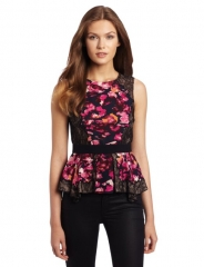 Bcbgmaxazria kaylan top at Amazon