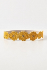 Beaded daisy belt at Anthropologie at Anthropologie