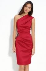 Beaded one shoulder dress by Eliza J at Nordstrom