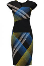 Beadle printed wool-blend dress at The Outnet