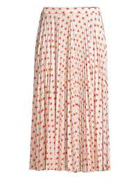 Beatrice B - Star Print Pleated Skirt at Saks Fifth Avenue