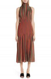 Beaufille Stripe High Neck Dress   Nordstrom at Nordstrom