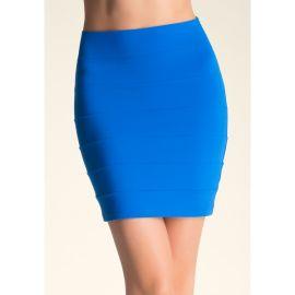 Bebe x Naven Blue Skirt at Bebe