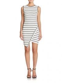 Bec and Bridge - Jedi Striped Asymmetrical Mini Dress at Saks Fifth Avenue