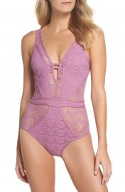 Becca Show  amp  Tell One-Piece Swimsuit at Nordstrom