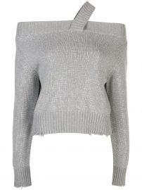 Beckett sequinned sweater at Farfetch