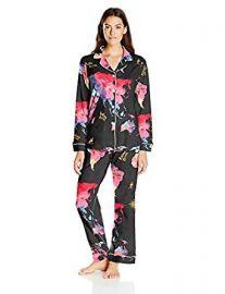 BedHead Pajamas 2PC Women rsquo s Classic Knit Pajama Set at Amazon