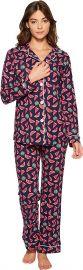 BedHead Womens Long Sleeve Classic Pajama Set at Amazon