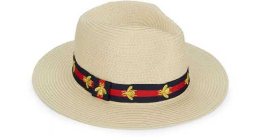 Bee Preppy Panama Hat at Saks Off 5th