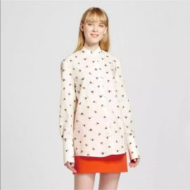Bee Print Button Down Top - Victoria Beckham for Target at Target