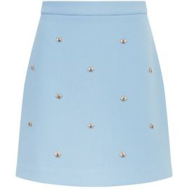 Bee embellished skirt at Maje