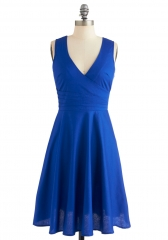 Beguiling Beauty Dress in Blue at ModCloth