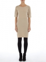 Beige sweater dress from Dorothy Perkins at Dorothy Perkins
