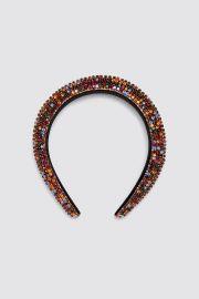 Bejeweled Padded Headband at Zara
