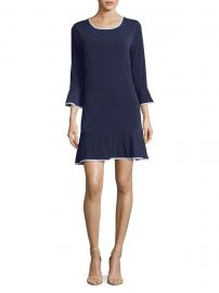 Bell-Sleeve Dress at Lord and Taylor
