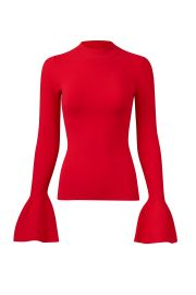Bell Sleeve Sweater by Diane von Furstenberg  at Rent The Runway
