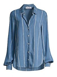 Bella Dahl - Painted Stripe Shirt at Saks Fifth Avenue