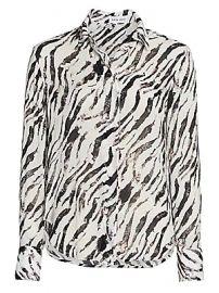 Bella Dahl - Zebra-Print Shirt at Saks Fifth Avenue