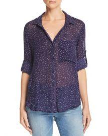Bella Dahl Ditsy Star Print Button-Down Shirt Women - Bloomingdale s at Bloomingdales