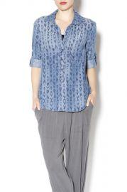 Bella Dahl Printed Shirt at Shoptiques