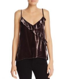 Bella Dahl Velvet Ruffle Cami Women - Bloomingdale s at Bloomingdales