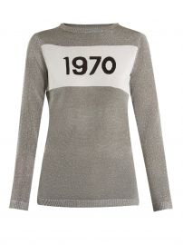 Bella Freud 1970 Intarsia-knit Sweater at Matches