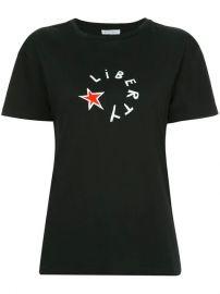 Bella Freud Liberty Star Printed T-shirt - Farfetch at Farfetch