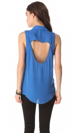 Belles blue top at Shopbop at Shopbop